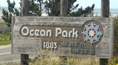 Ocean Park sign.